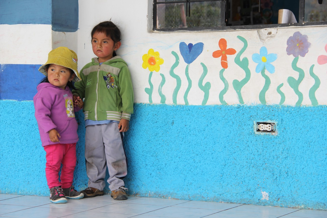 enfants otavalo equateur©Bertrand Manterola