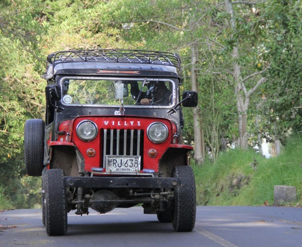 Jeep Colombie Trek - Bertrand Manterola