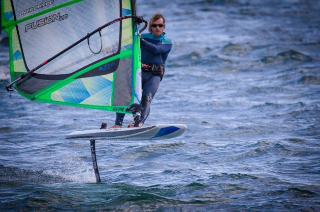 Session de Windsurf Foil ByLoicOlivier