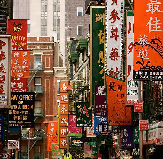 Chinatown, le quartier chinois de New-York