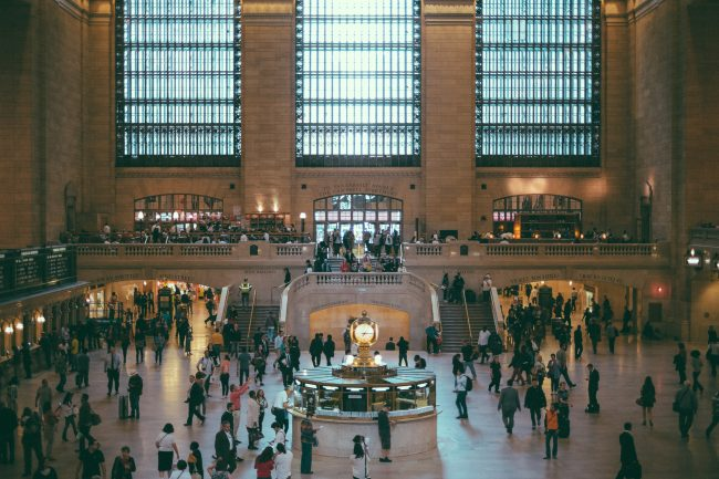 la gare de grand central, new york