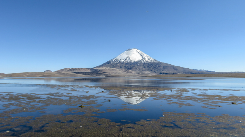 volcan parinacota chili