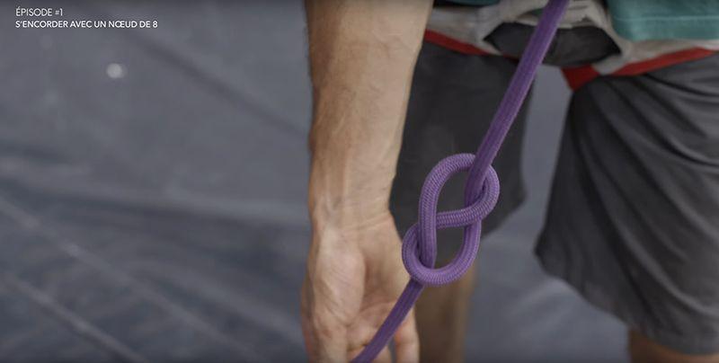Tuto Escalade S'encorder avec un noeud de 8 - Noeud ressemble chiffre 8.jpg