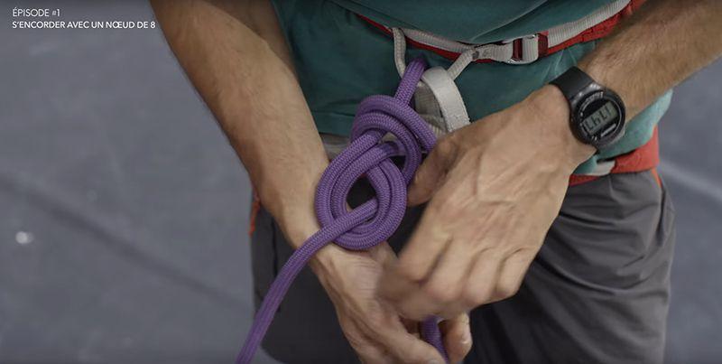 Tuto Escalade S'encorder avec un noeud de 8 - Bien serrer le noeud.jpg