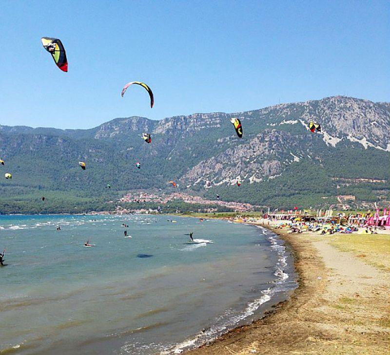 Spot Kitesurf Gokova Turquie - Championnat du monde de kitesurf