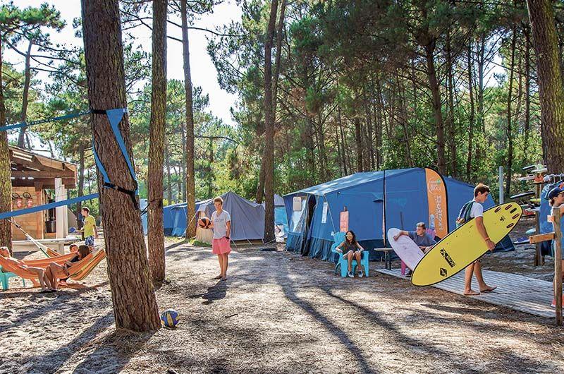 Vacances enfant nature surfcamp