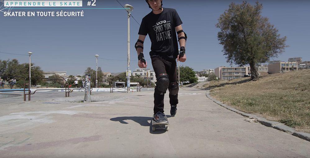 Pousser correctement mouvement skate