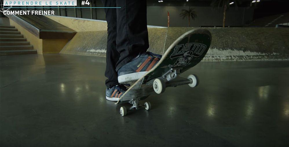 Freiner skate tail board