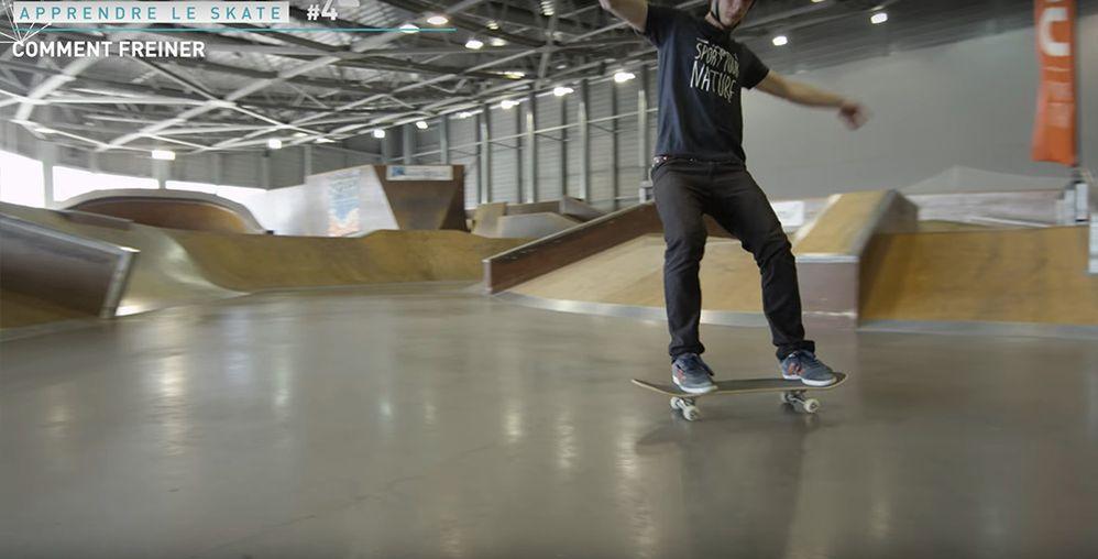 Power slide skateboard