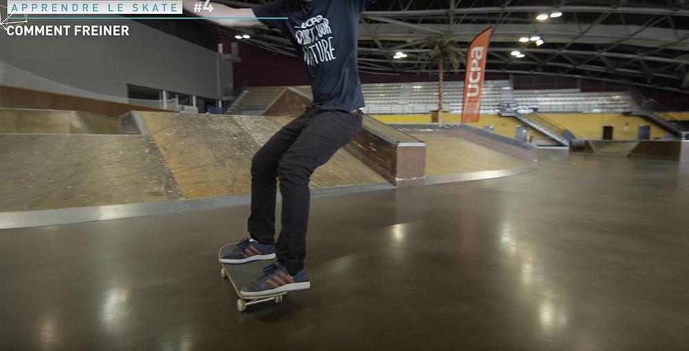 Position Power slide skate