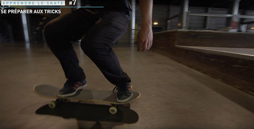 Position skate descente marche