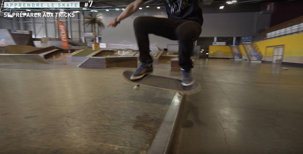Apprendre le ollie en skateboard