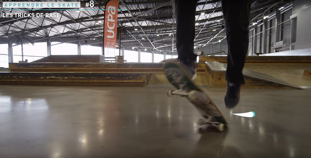 Shove-it rotation saut trick de base skate