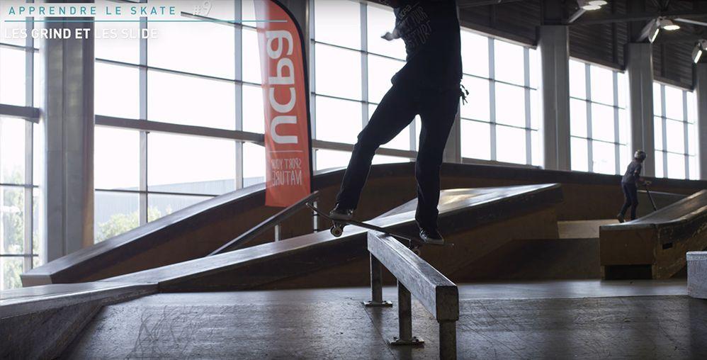 Rail barre de flat handrail skatepark