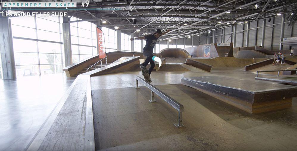 Apprendre le boardslide skate