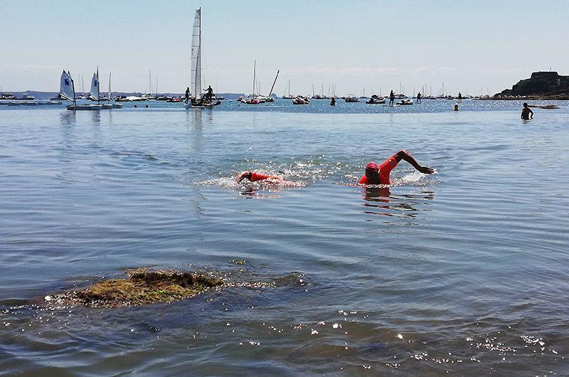 Entrainement nage swimrun