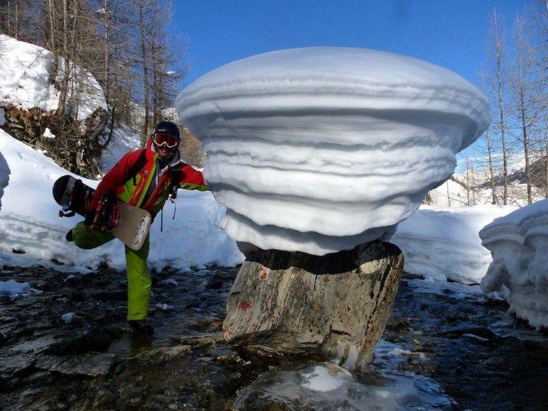 Fonte des neiges au printemps