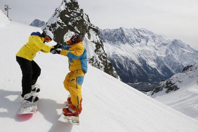 Cours de snowboard avec moniteur pour adultes