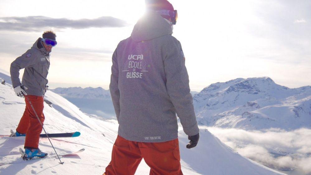 Moniteurs de ski et de snowboard pour debutant