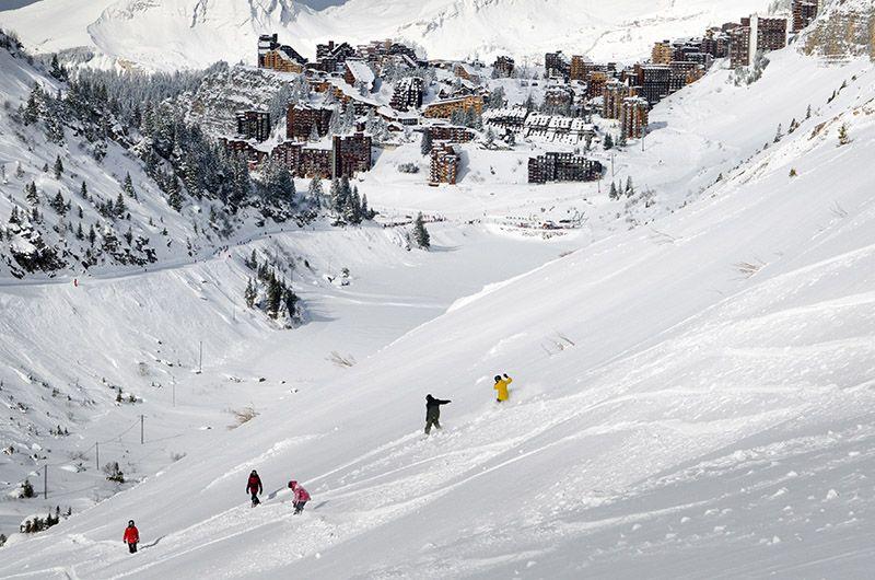 Plus grand domaine skiable du monde Portes du Soleil