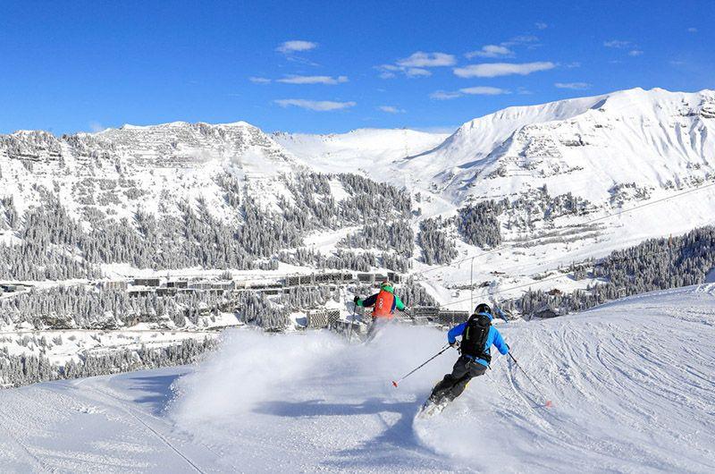 Domaine de ski incontournable Flaine France