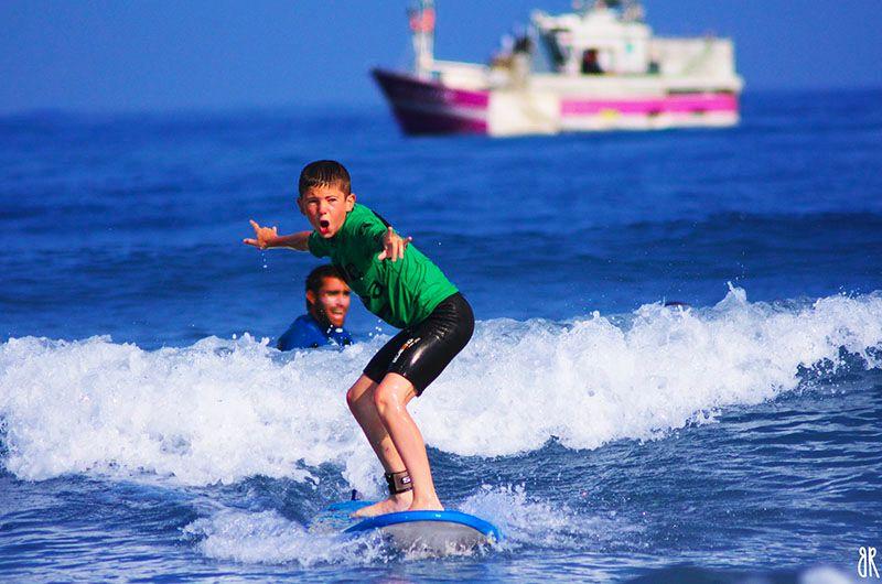 Surfcamp vacances sportive pour enfants